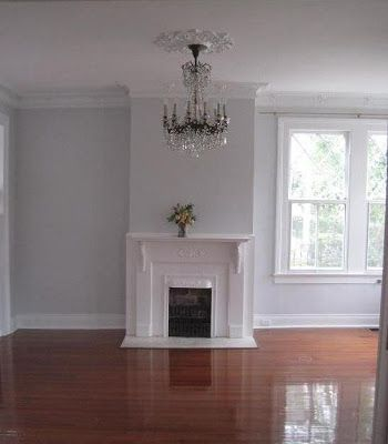 Benjamin Moore Gray Tint 1611 Final Selection Hallways Dining Room And Upstairs