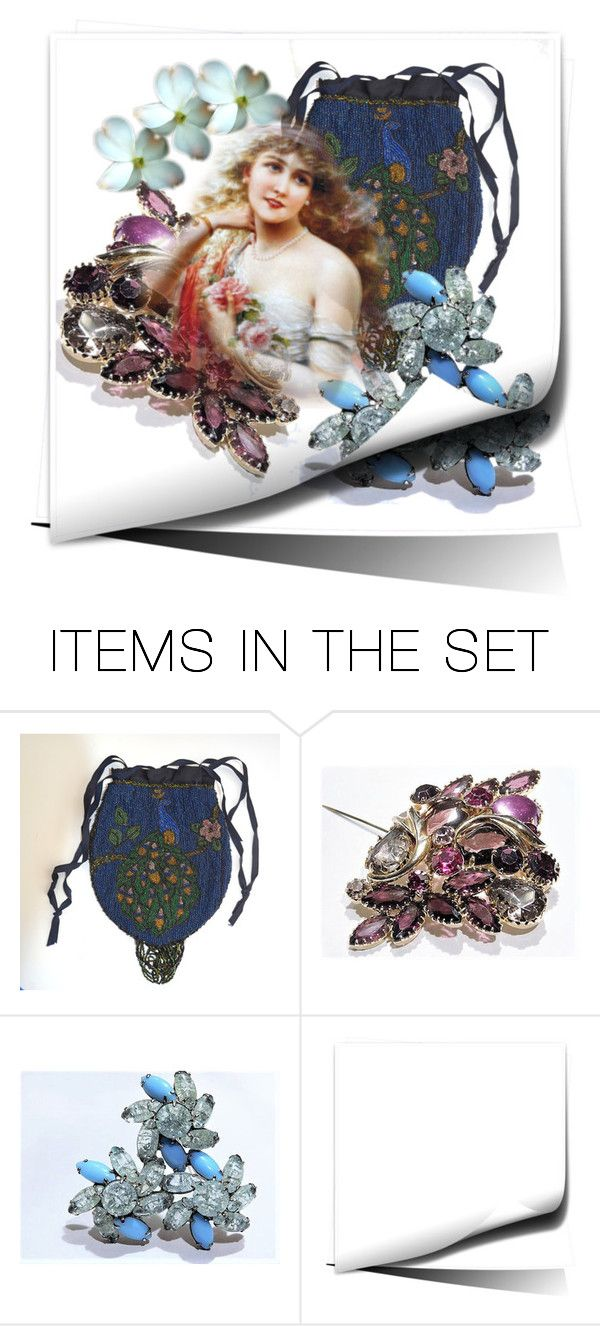 """""""Turn the Page"""" by pattysporcelainetc ❤ liked on Polyvore featuring art and vintage"""