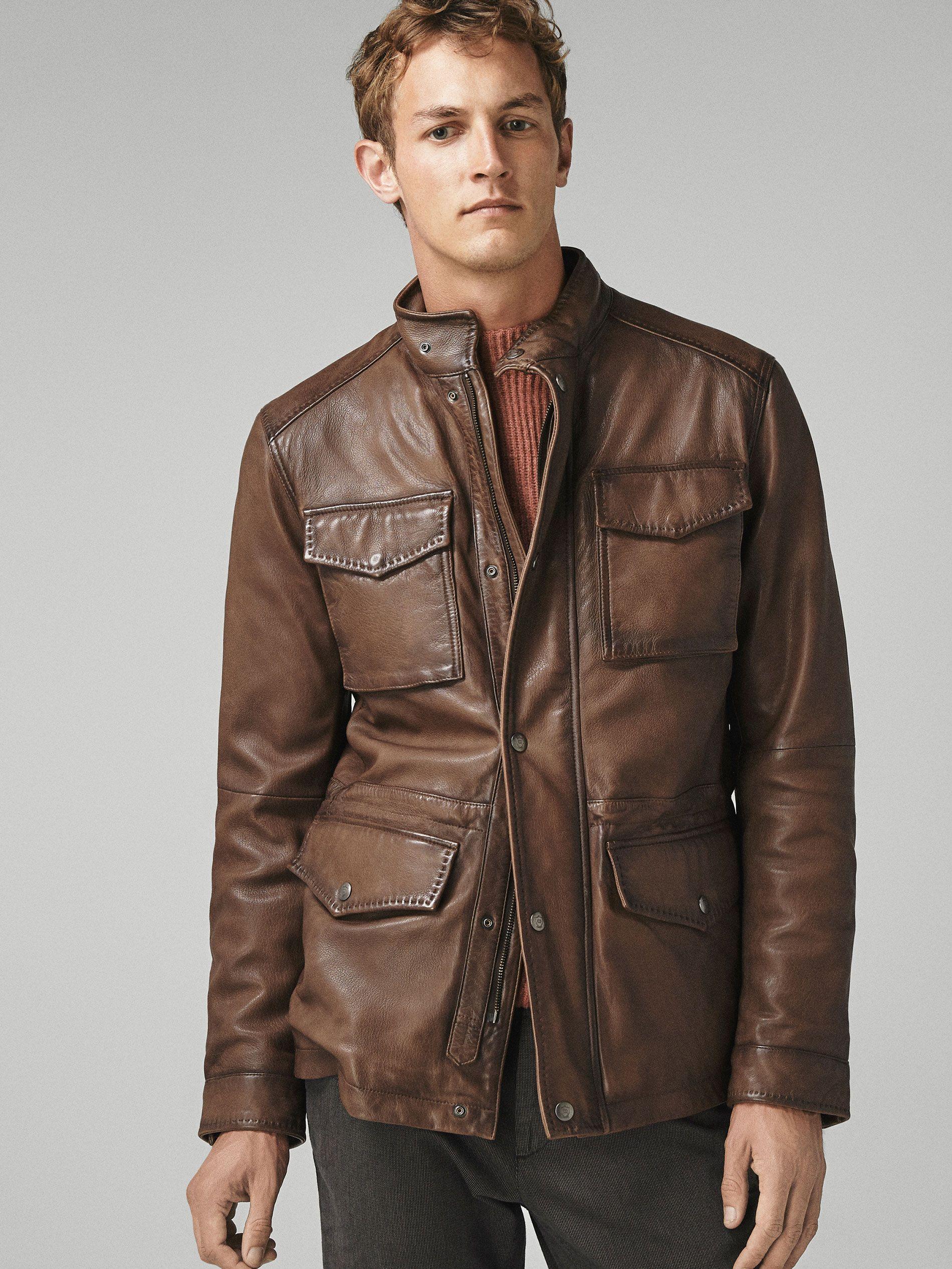 Siluet Leather Jacket Leather Jacket Men Winter Leather Jackets