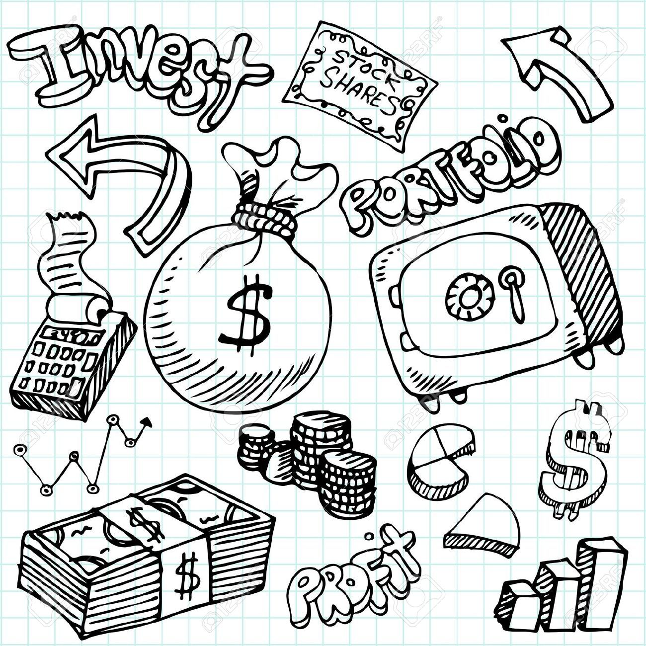 Image Result For Money Coins Drawing