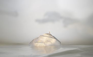 Elizabeth Duffy. Security Envelope Iceberg: Flag  2013  Archival Pigment Print on Hahnemühle Paper