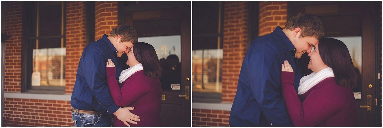 By Kara - Kara Evans - Kankakee Illinois Wedding Photographer - Kankakee Farm Session - Chebanse Illinois Farm Engagement