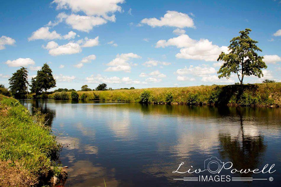 Blue Bluesky Clouds Riverside River Reflection Landscape Photography Livpowellimages Landscape Landscape Photography Outdoor