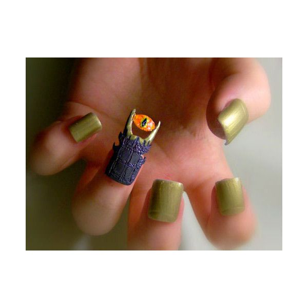 Super Epic Geeky Nails! found on Polyvore | Nail art, Nail ...