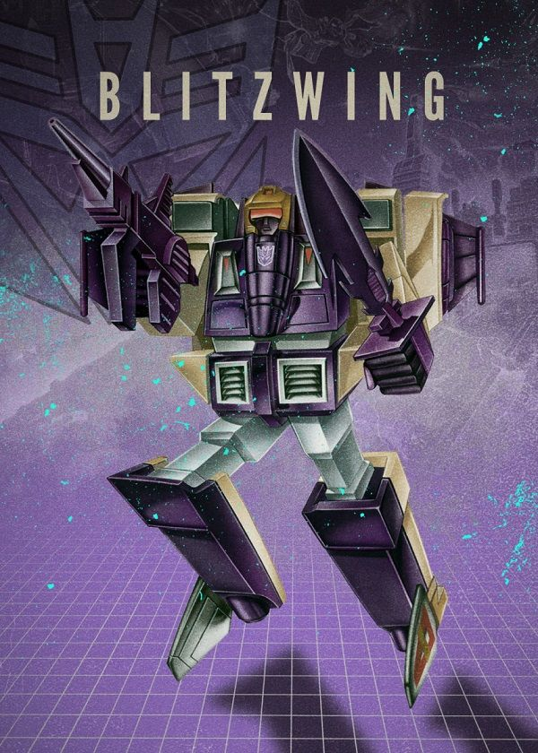 "Transformers Decepticons Blitzwing #Displate explore Pinterest""> #Displate artwork by artist ""Rykker o7"". Part of… 