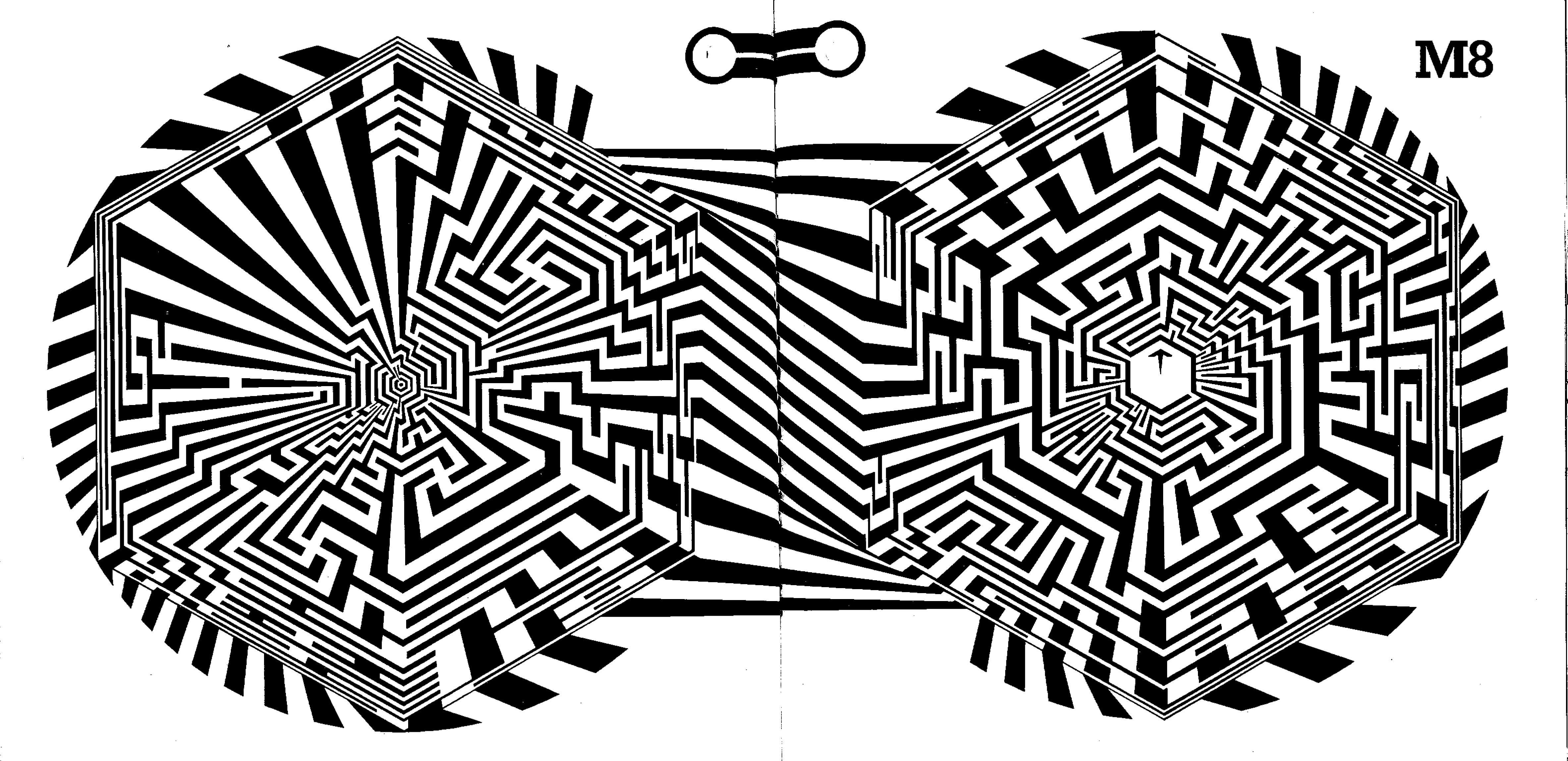 Hole Maze By Greg Bright In