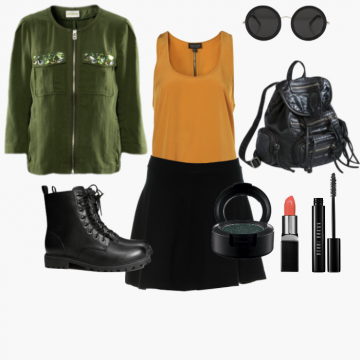 Show off your love for #Daria this #Halloween! Her look is so easy to recreate using the items you already own! See for yourself: http://wishi.me/Halloween