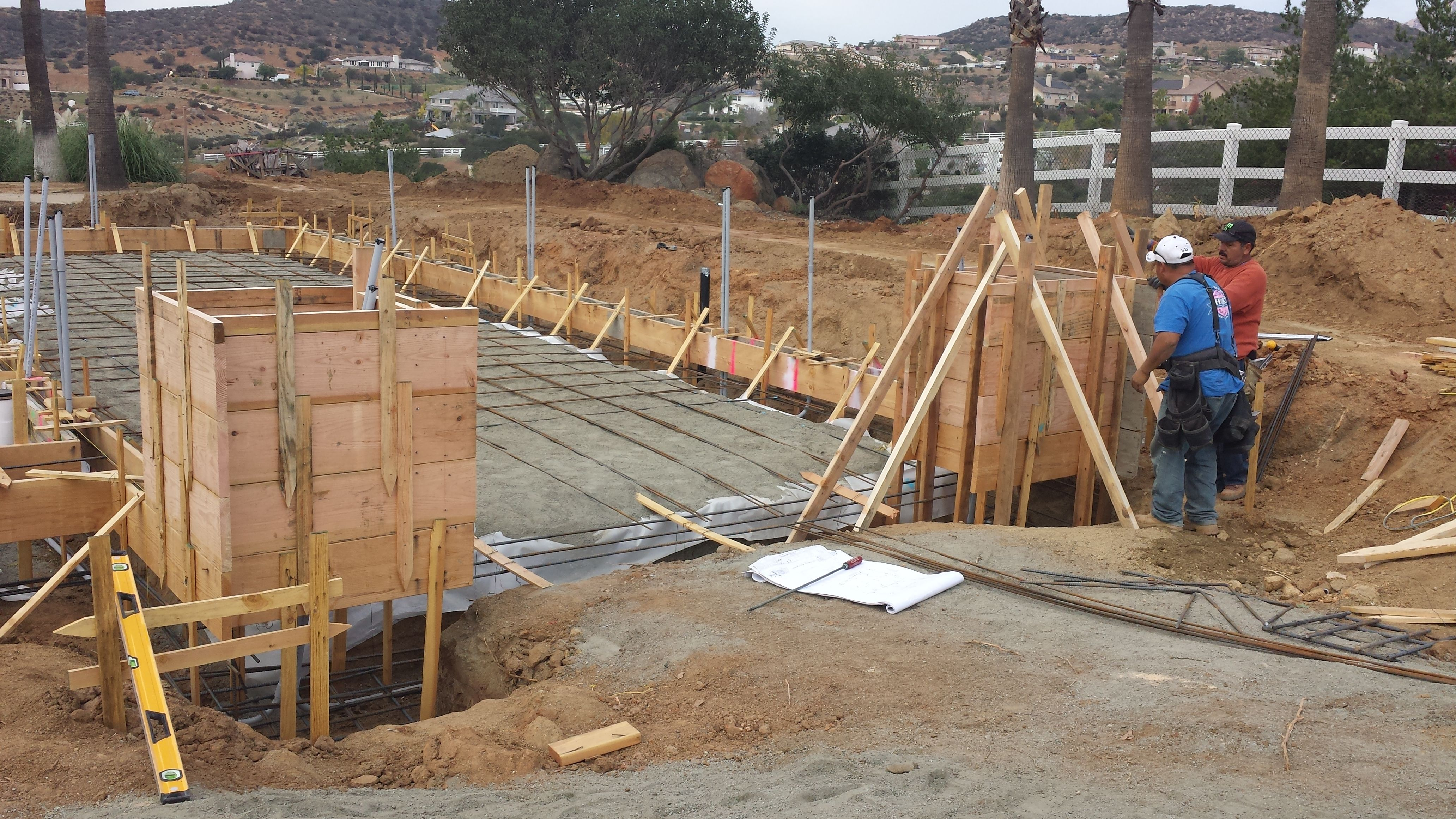 Best Week 6 01 11 15 Backfill Rebar Installation Concrete 400 x 300