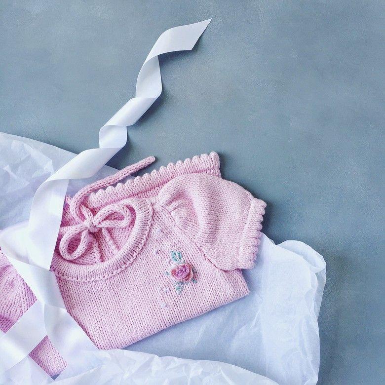 Инструкция. Платье и джемпер с рукавами-фонариками. Размеры: до года; 1-2; 3-4 года.