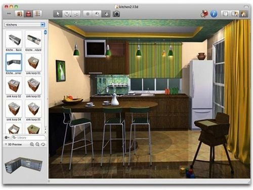 Free Online Virtual Home Designing Programs  3D Programs  Home Entrancing 3D Design Kitchen Online Free 2018
