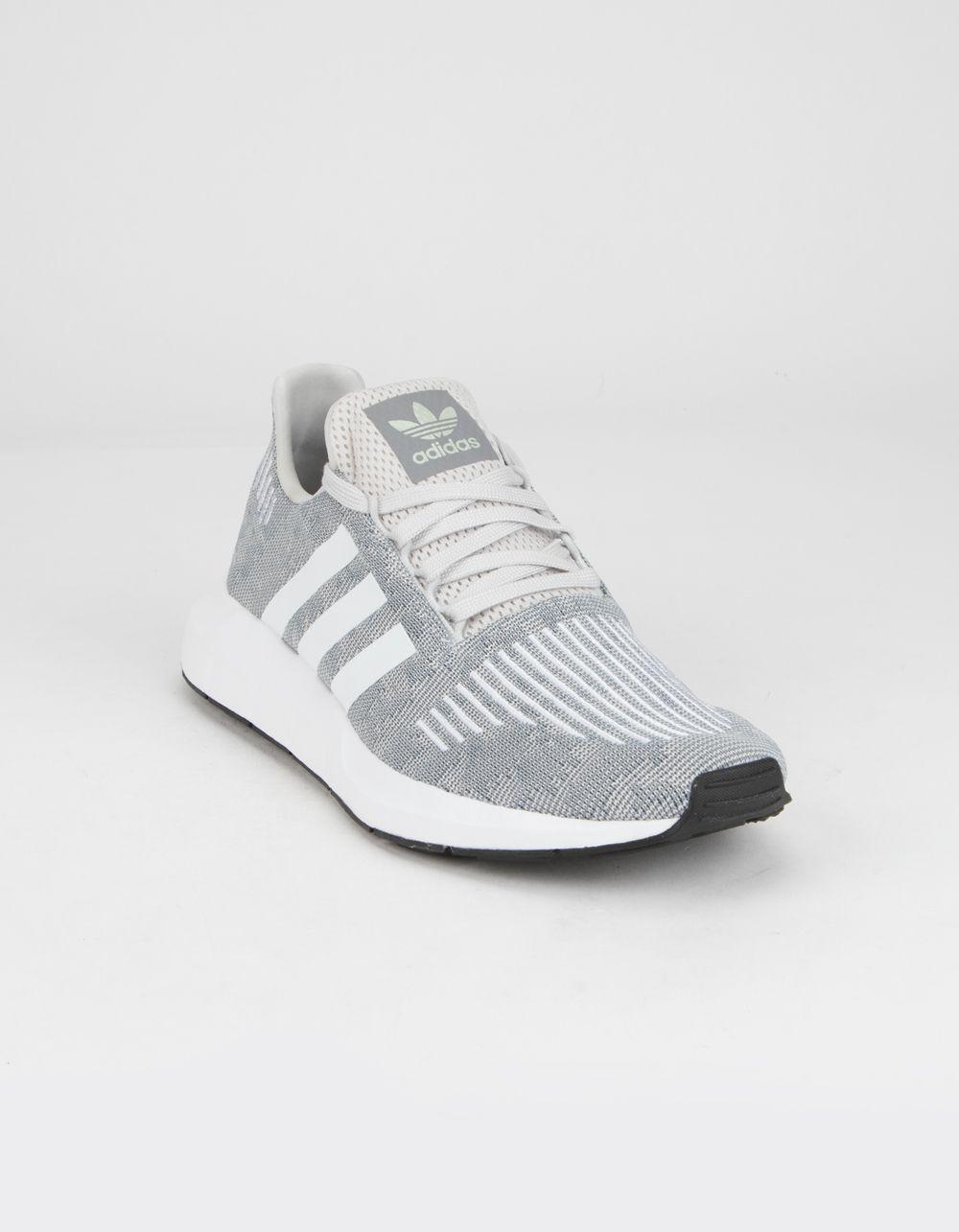 Sudamerica Cromático Menagerry  ADIDAS Swift Run Gray & White Shoes - GRAY - 361387115 | Adidas shoes  women, Grey tennis shoes, Addidas shoes women