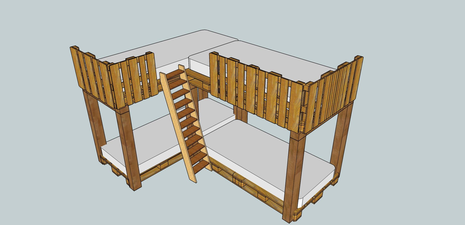 How To Use Google Sketchup For Pallet Crafting Pallet4 Me  # Muebles Google Sketchup