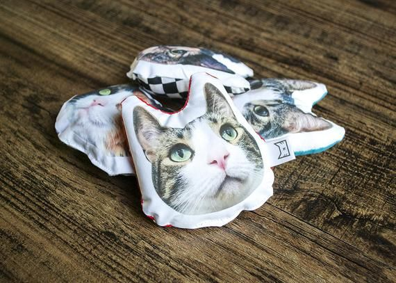 6193ca2c7d33 Custom Catnip Toy || Personalized Cat Toy || Catnip Pillow || Kitten Toy ||  Cat Head Toy