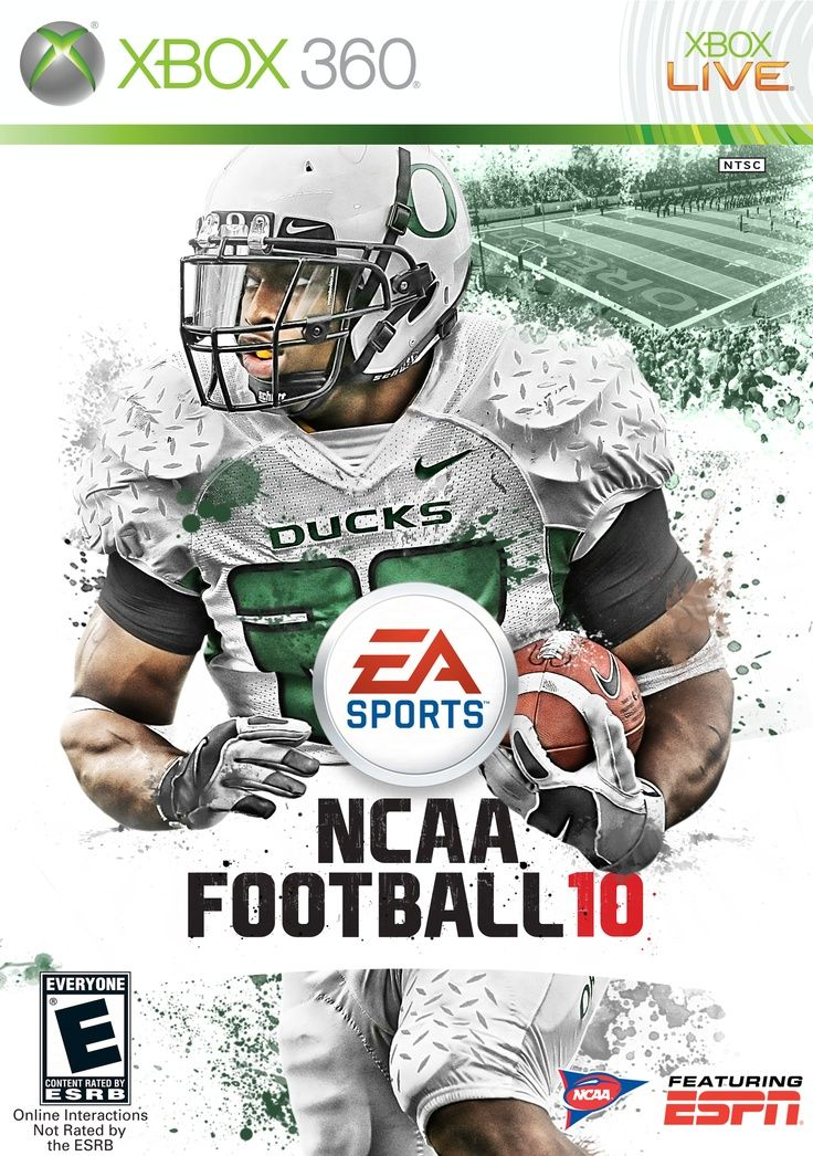 J Stew Y Gracing The Front Of The 2010 Ncaa Football Campusattic Ncaa Football Ncaa Football
