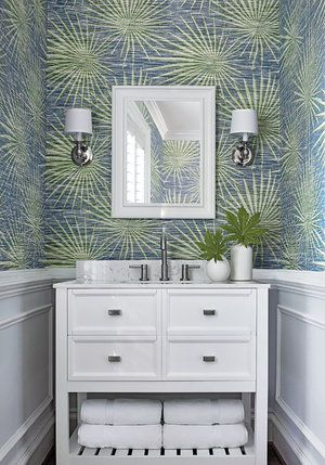 T10141 Palm Frond Wallpaper Jojo Design Studio Thibaut