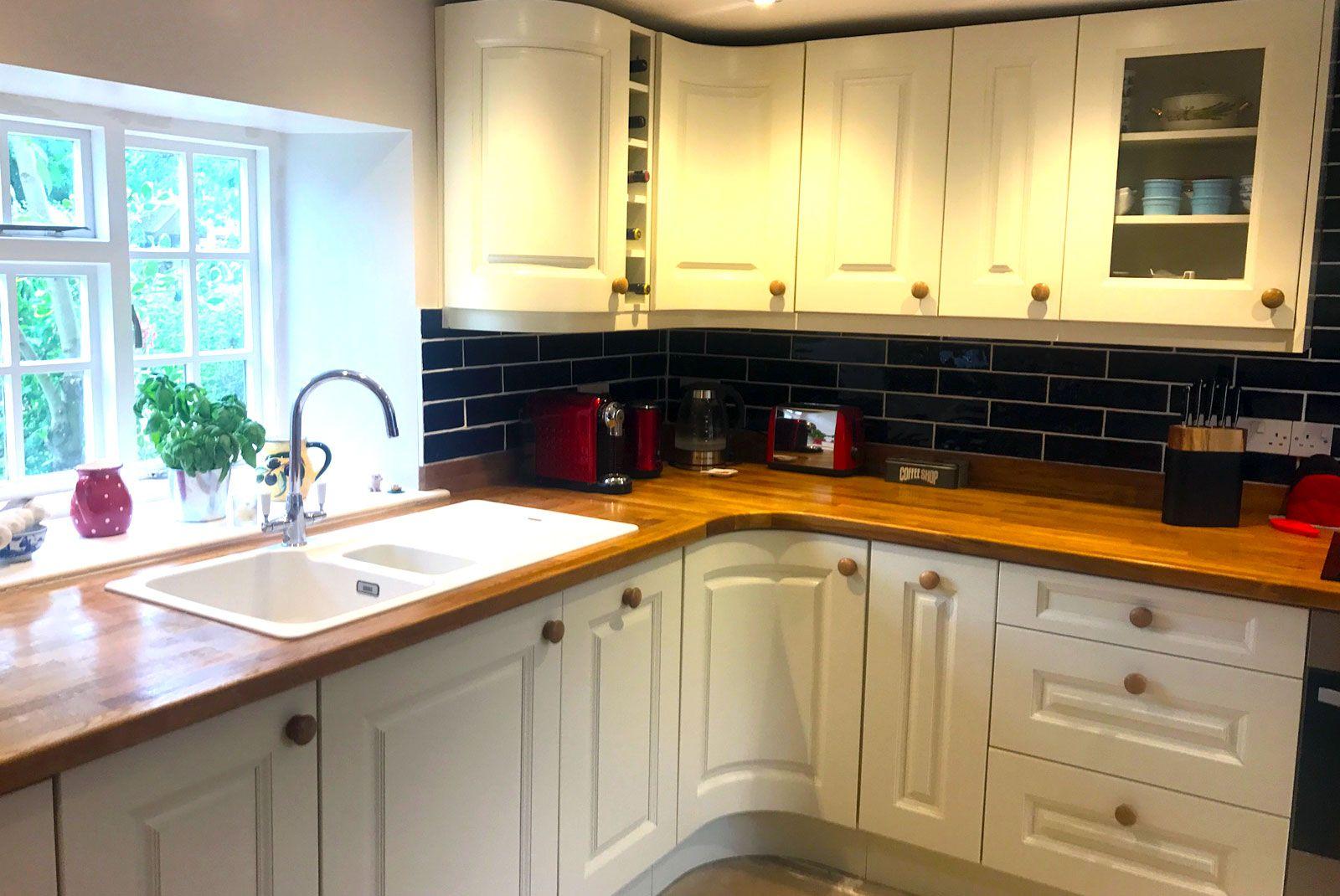 An Innova Silsden Alabaster Shaker Kitchen Real kitchen