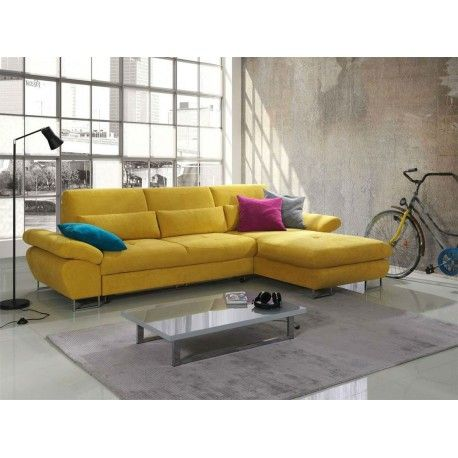 Reggio Modern Corner Sofa Bed 759 Available In Other Colours Fabrics
