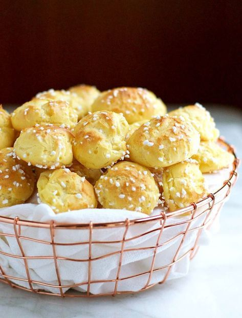 Photo of Homemade Chouquettes (French Pastry Sugar Puffs) – Pinch and Swirl