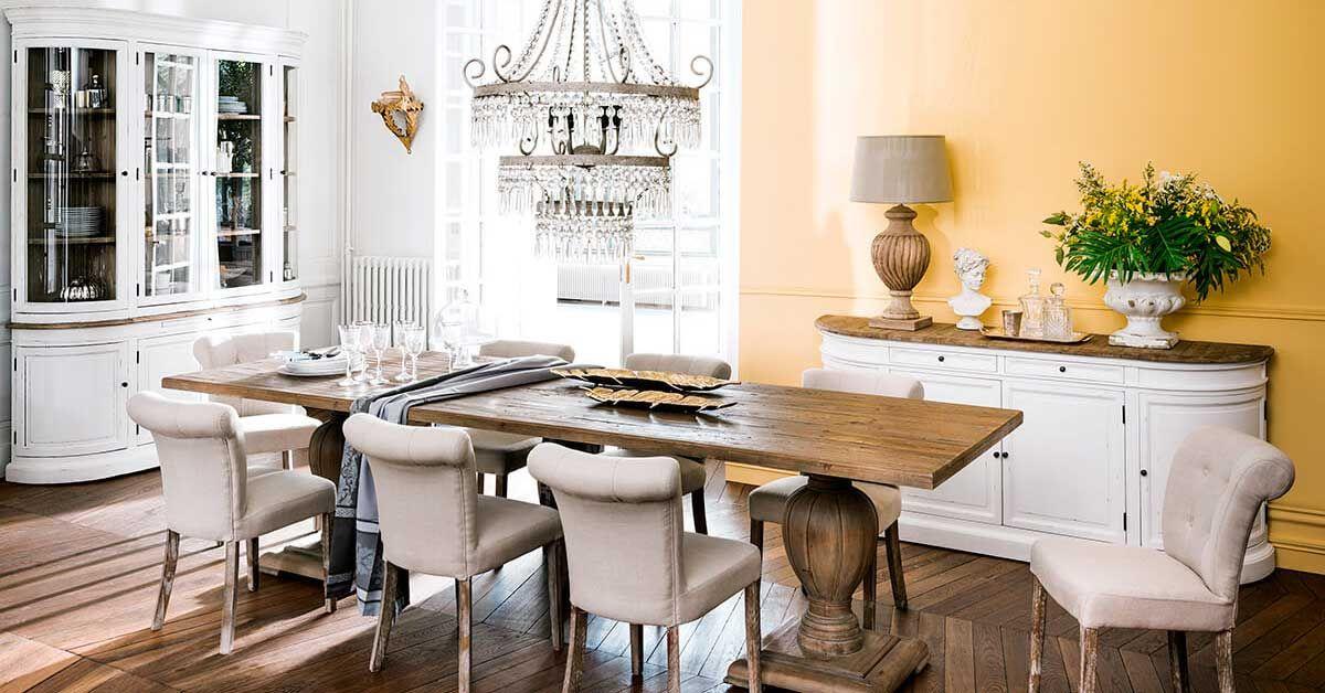 Arredare La Sala Da Pranzo In Stile Classico Chic Lasciatevi Ispirare Sala Da Pranzo Arredamento Idee Sala Da Pranzo