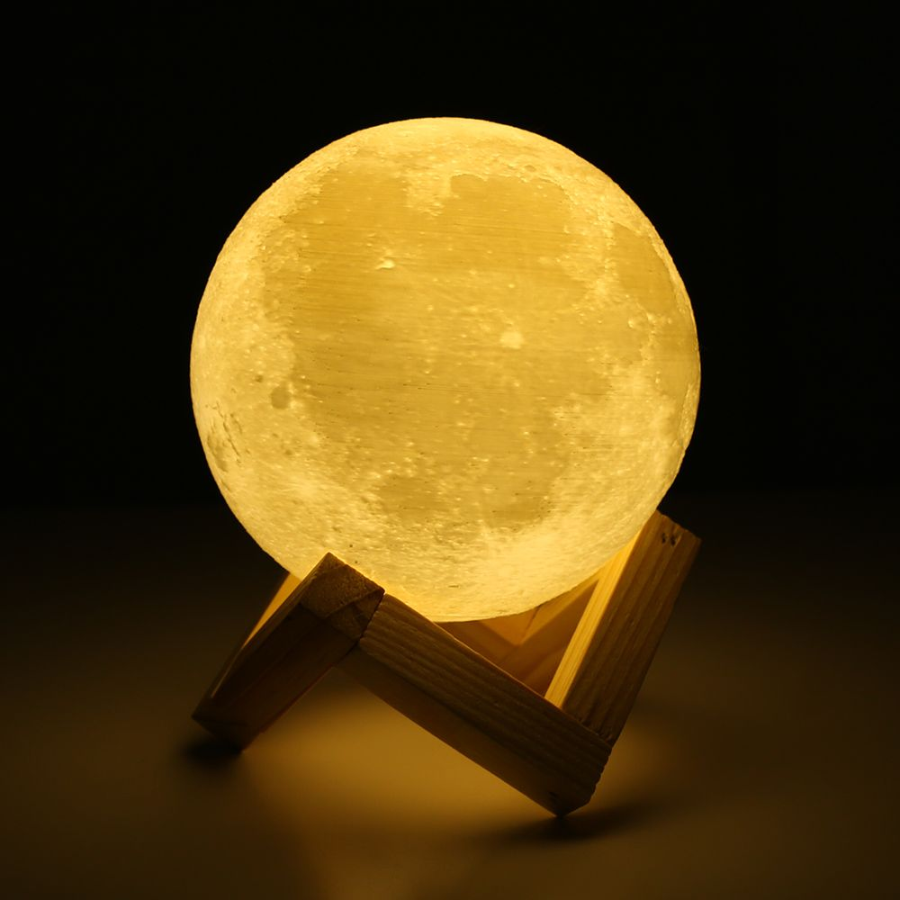 Rechargeable 3d Print Moon Lamp With 2 Color Change Price 29 00 Free Shipping Garden Products Night Light Lamp Moon Nightlight Led Night Lamp