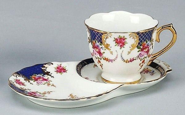 cup u0026 snack plate sets   Pink Floral Porcelain Tea Cup and Snack Plate Set & cup u0026 snack plate sets   Pink Floral Porcelain Tea Cup and Snack ...