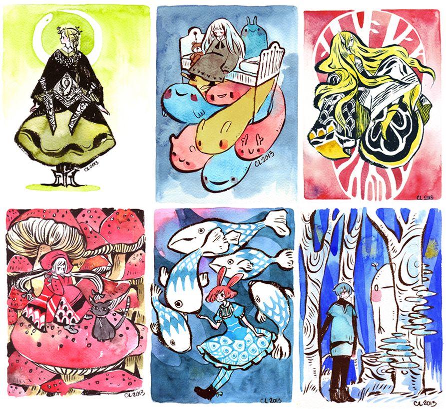 Commission Batch 1 by koyamori Art, Painting