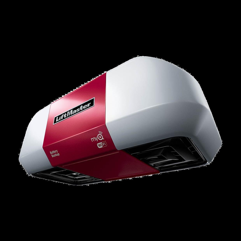 8550w Elite Series Dc Battery Backup Belt Drive Wi Fi Garage Door Opener Left Garage Doors Garage Door Opener Door Opener
