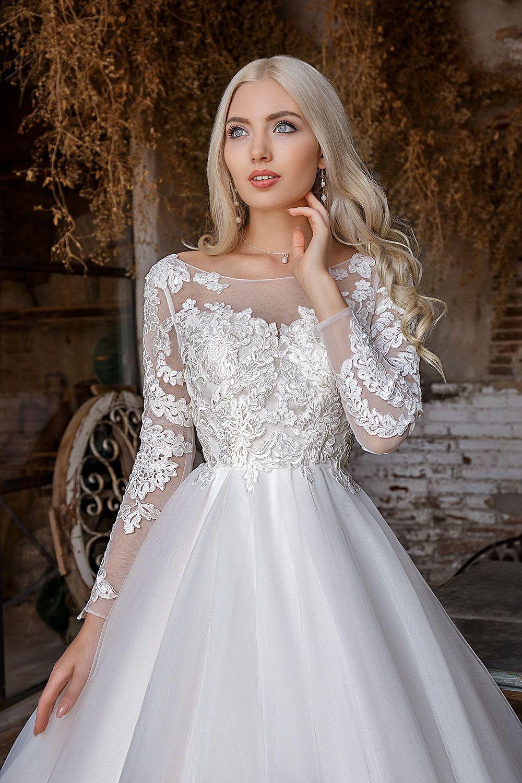 Brautkleid Carla – Avorio Vestito | Braut-Outfit | Pinterest
