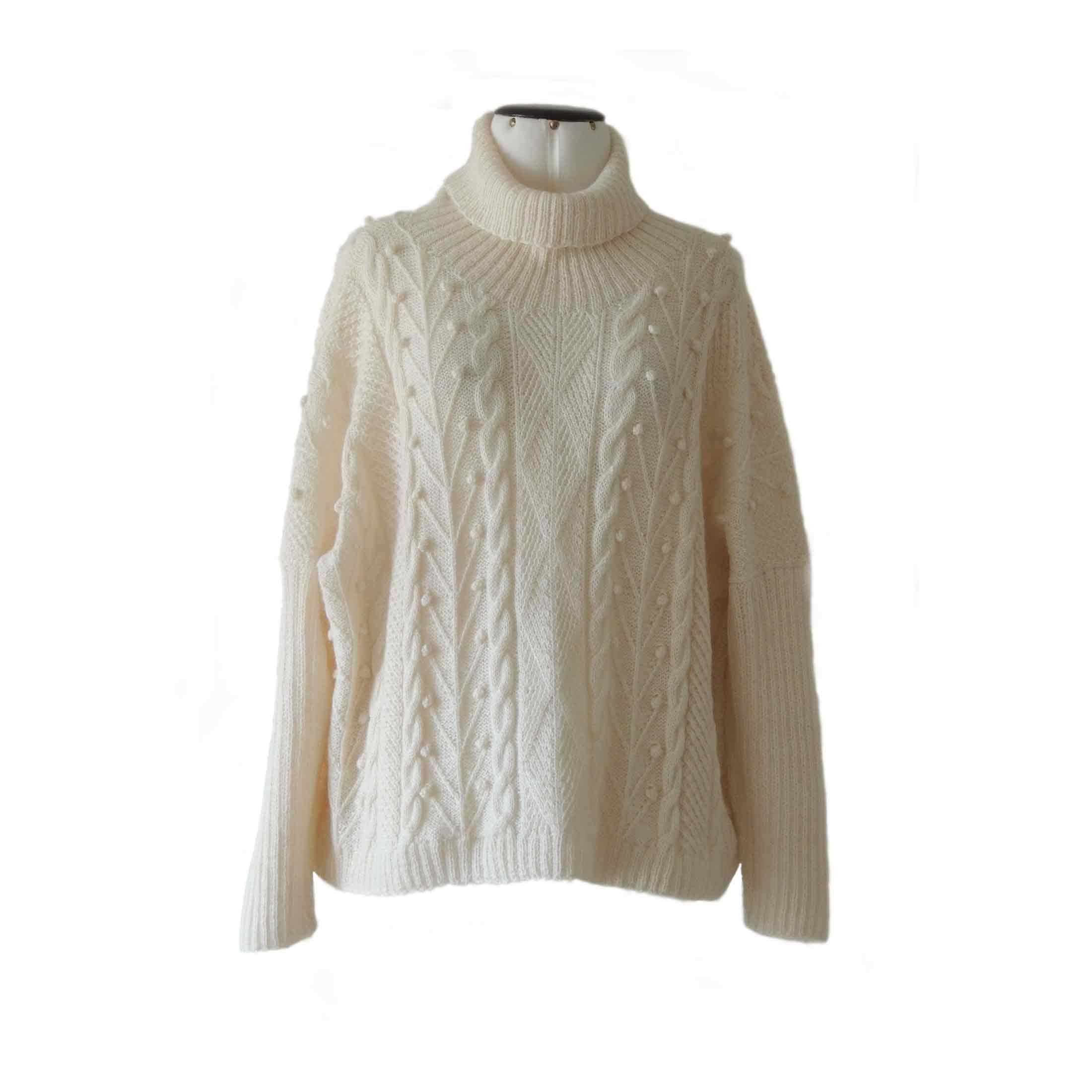 Women S Pullover 100 Baby Alpaca Hand Knitted Oversized Etsy Women Pullover Hand Knitted Sweaters Knitted Sweaters