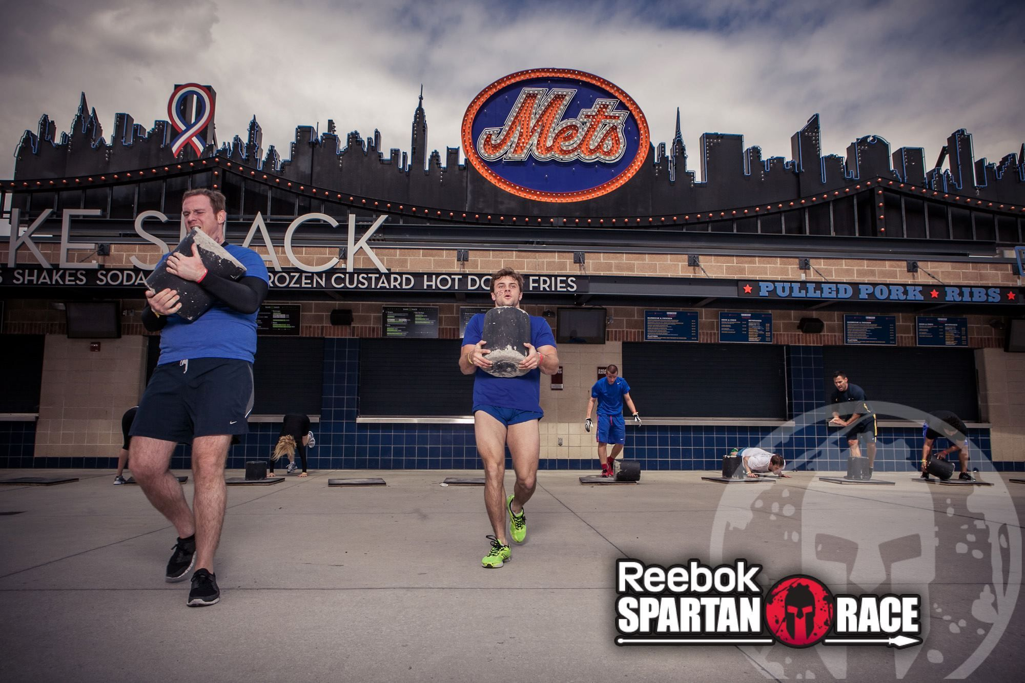 Conquering Citi Field for the #SpartanSprint 2013!! #METS #MLB #SpartanRace