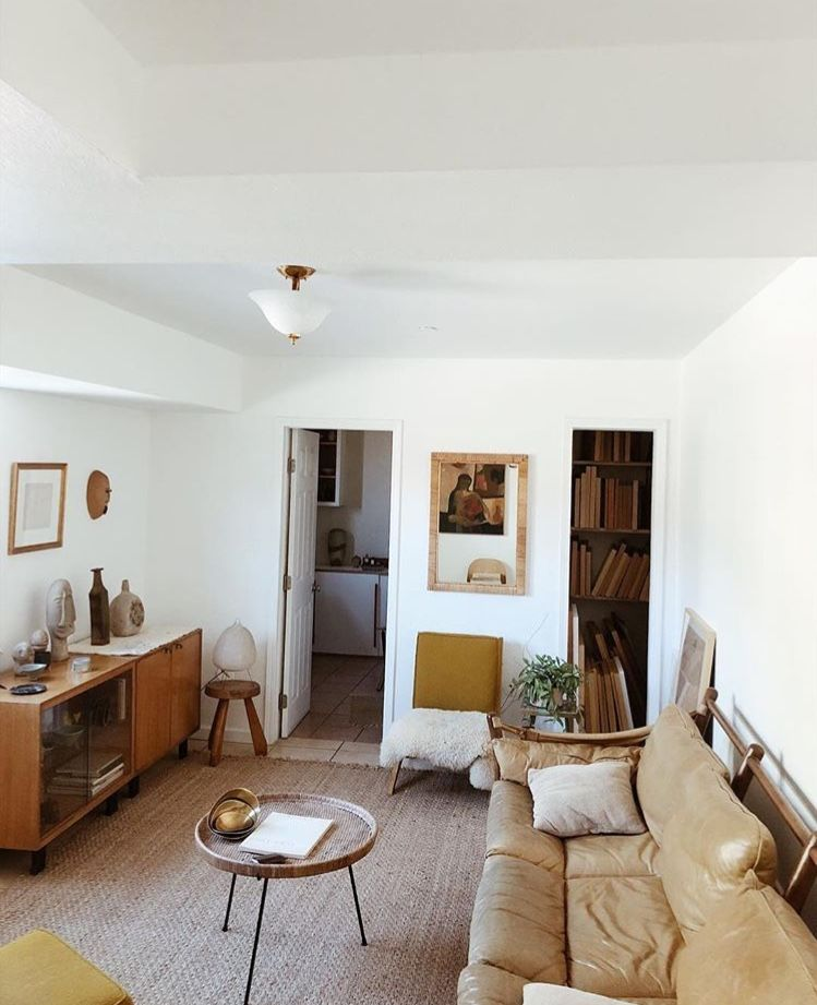 Charming Late 60s Inspired Living Room