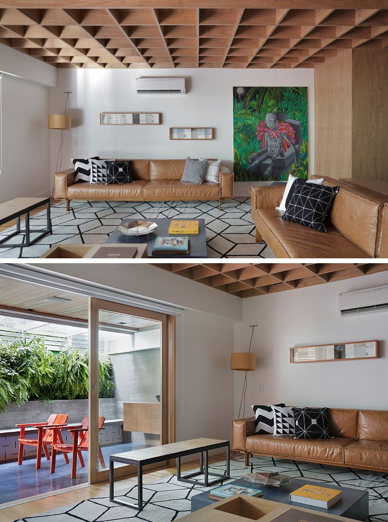 Superb This Brazilian Apartmentu0027s Interior Design Features Wood Accents Throughout