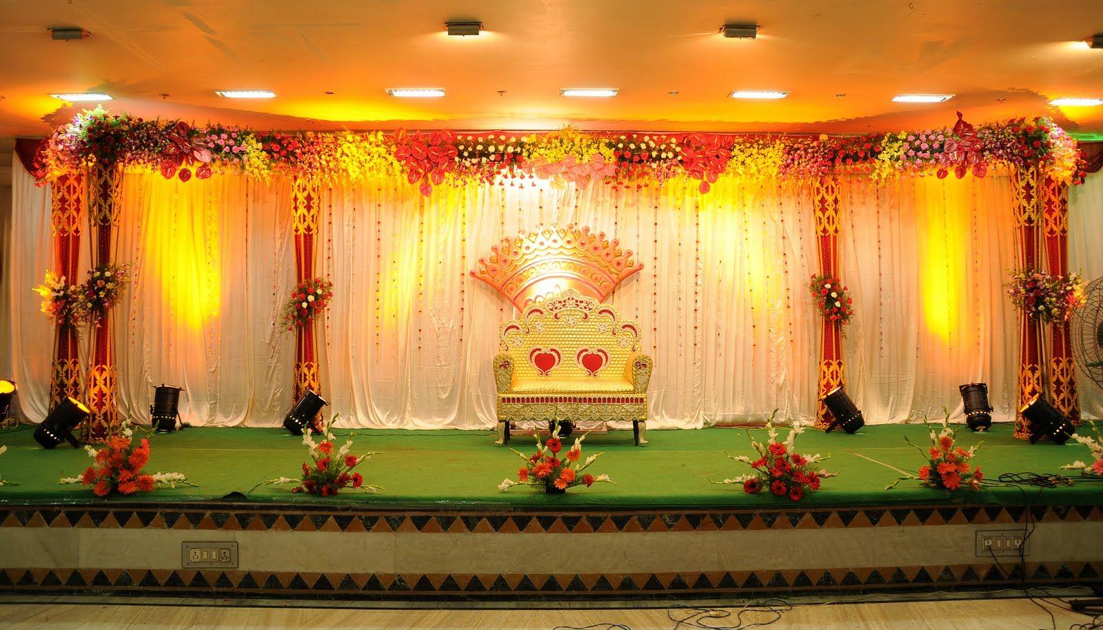 Wedding stage decor ideas  Grand Wedding mygrandwedding on Pinterest