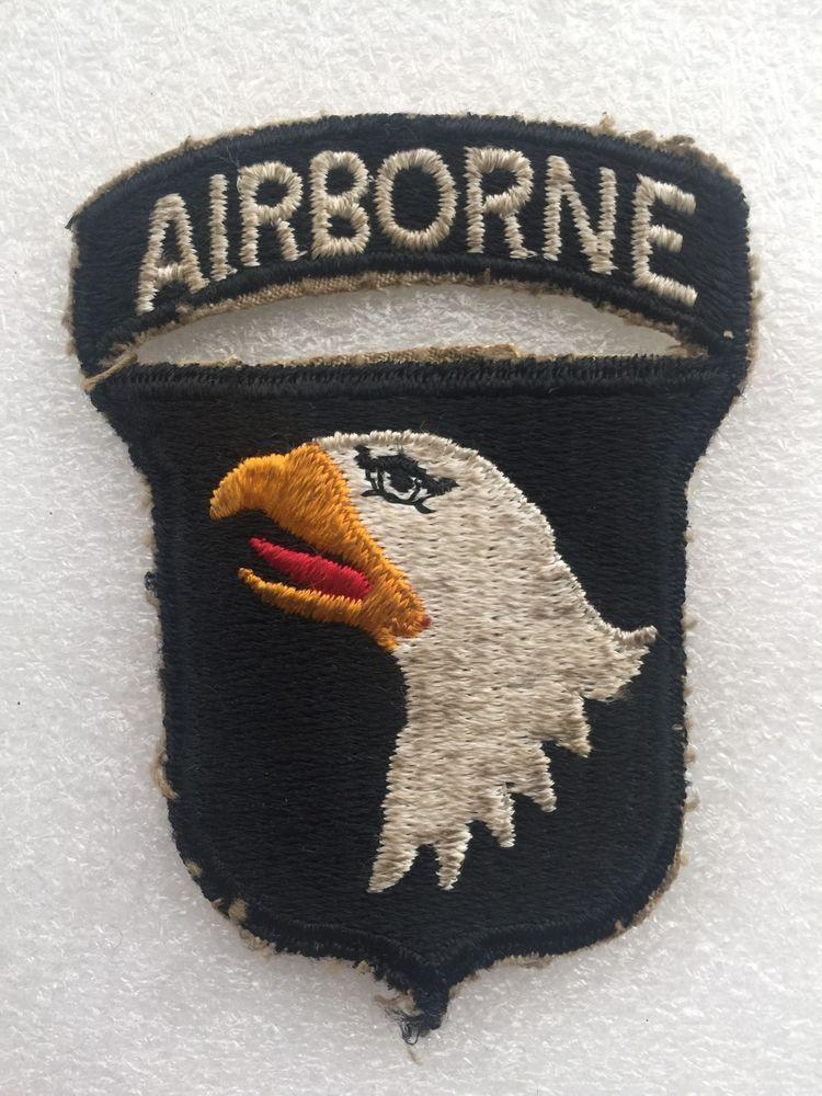 Original US Army First Army 2nd Design Color Patch Korea