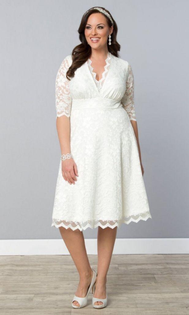 White Shift Dress Wedding