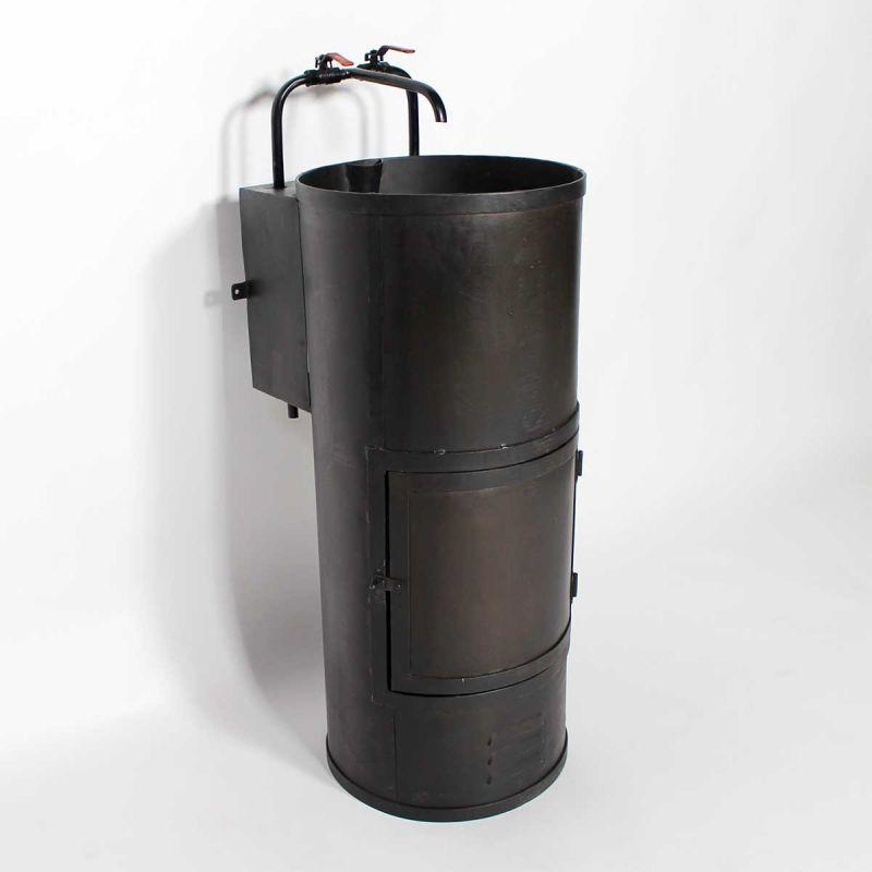 lavabo industriel noir 1 vasque salle d 39 eau pinterest salle salle de bain et salle de. Black Bedroom Furniture Sets. Home Design Ideas