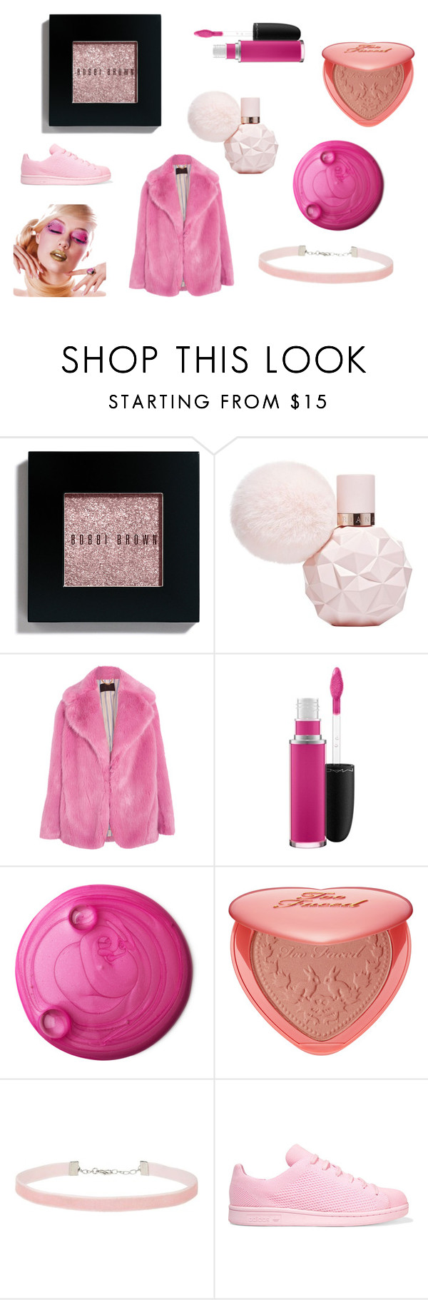 """Blue"" by irispoppelaars ❤ liked on Polyvore featuring Bobbi Brown Cosmetics, J.Crew, MAC Cosmetics, Too Faced Cosmetics, Miss Selfridge and adidas Originals"