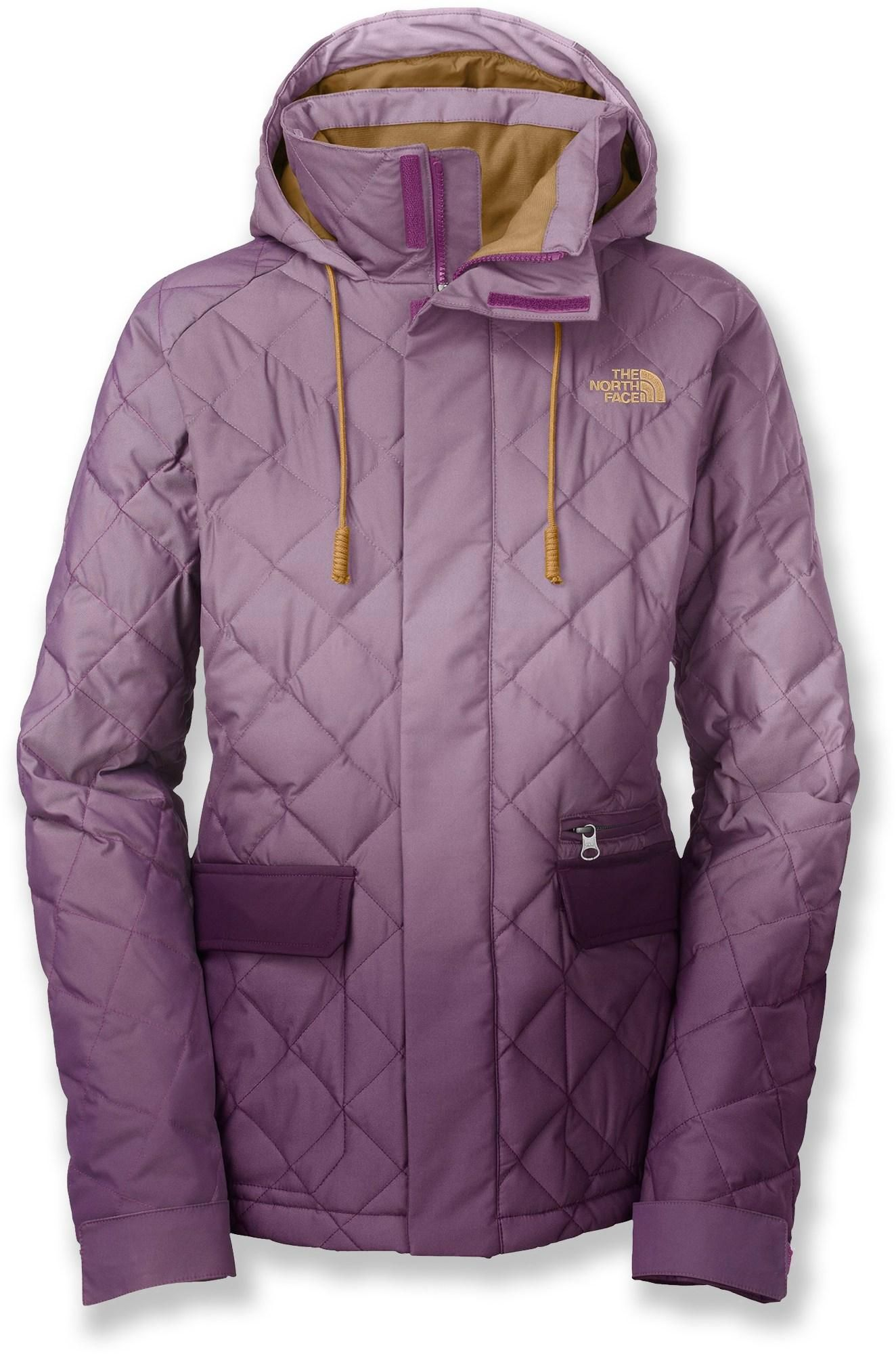 ombre jacket the north face first day down insulated jacket rh pinterest com