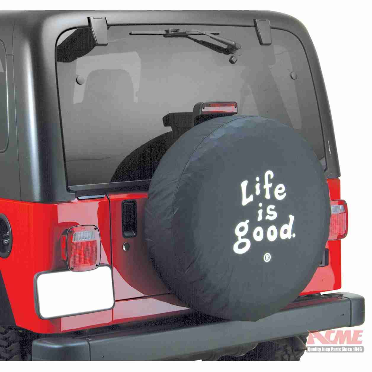 Life Is Good Life Is Good Tire Covers Acme Jeep Parts Jeep