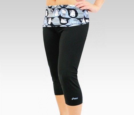 f1f5474be ASICS x Hello Kitty Capri Leggings: Blue Fri: Pink Bow Style  #SephoraHelloKitty