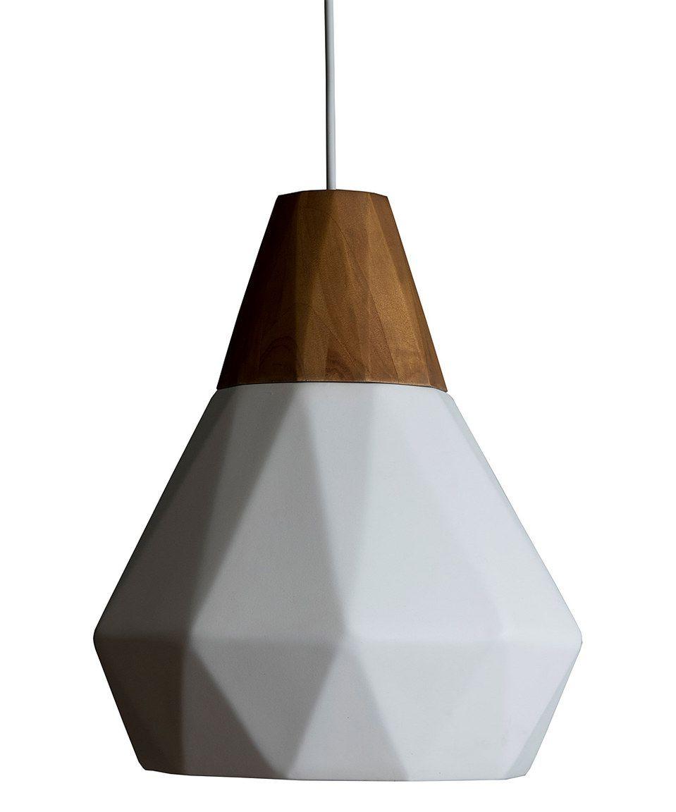 White Matte Javea Pendant Light