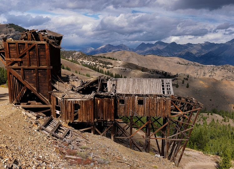 old mine   ~Abandoned and Forgotten #5~   Ghost towns, Idaho
