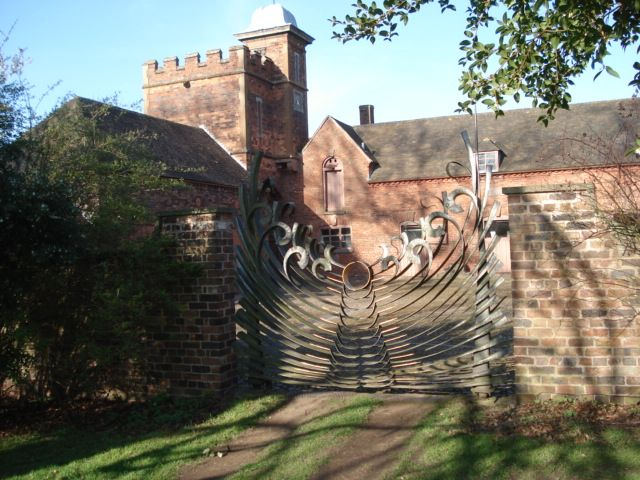 Eternity Gates at Dudmaston Hall, UK. By Forge Robinson