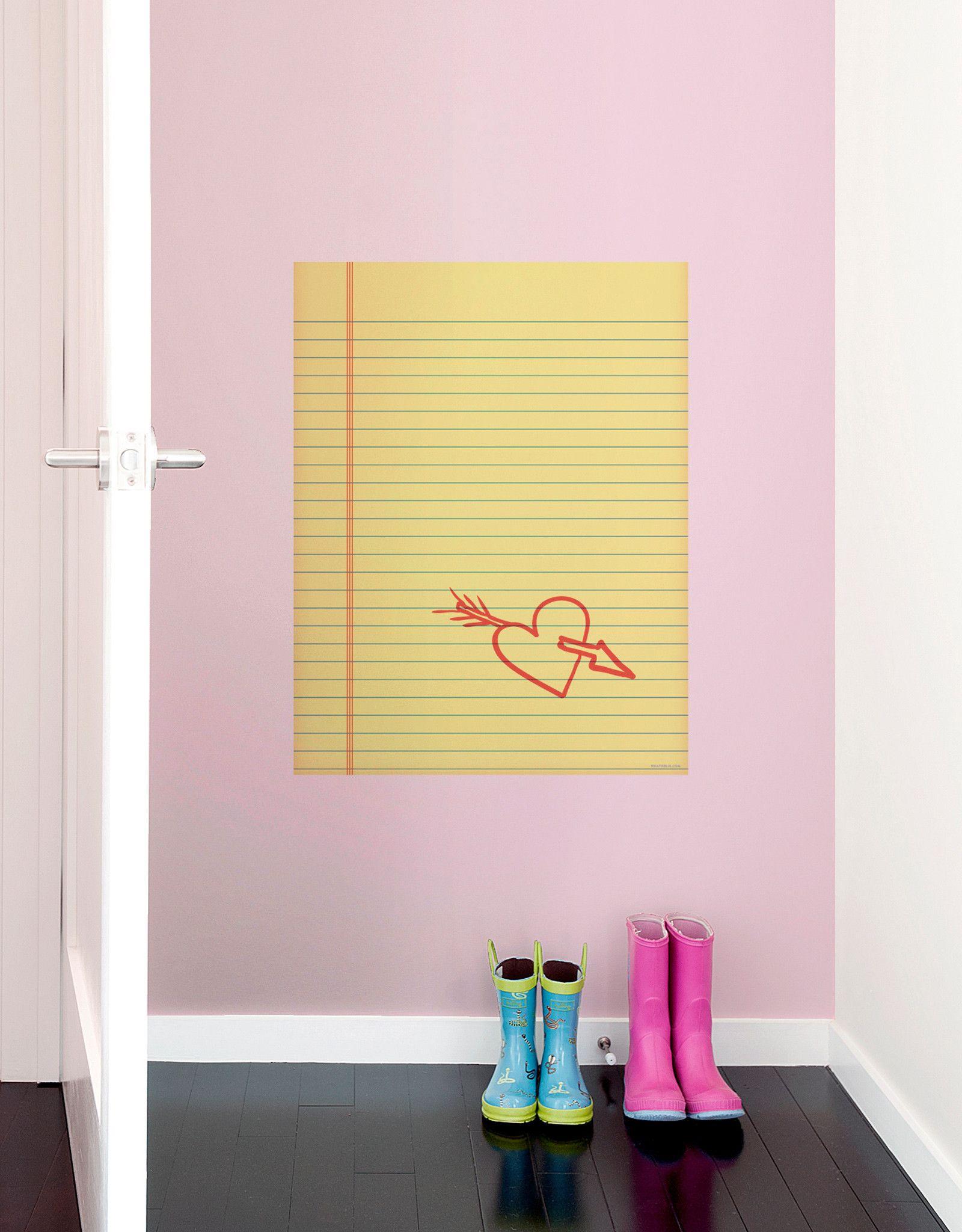 Notepad Dry Erase | School room organization, Room and Wall decor