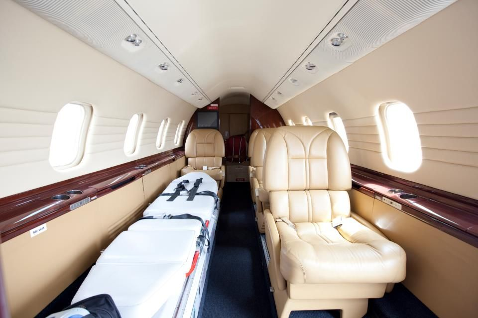 Inside one of our preferred providers lear jet angel