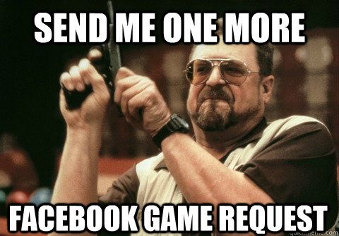 Funny Meme Games For Facebook : Games fbgames candycrush do you know that you can block all