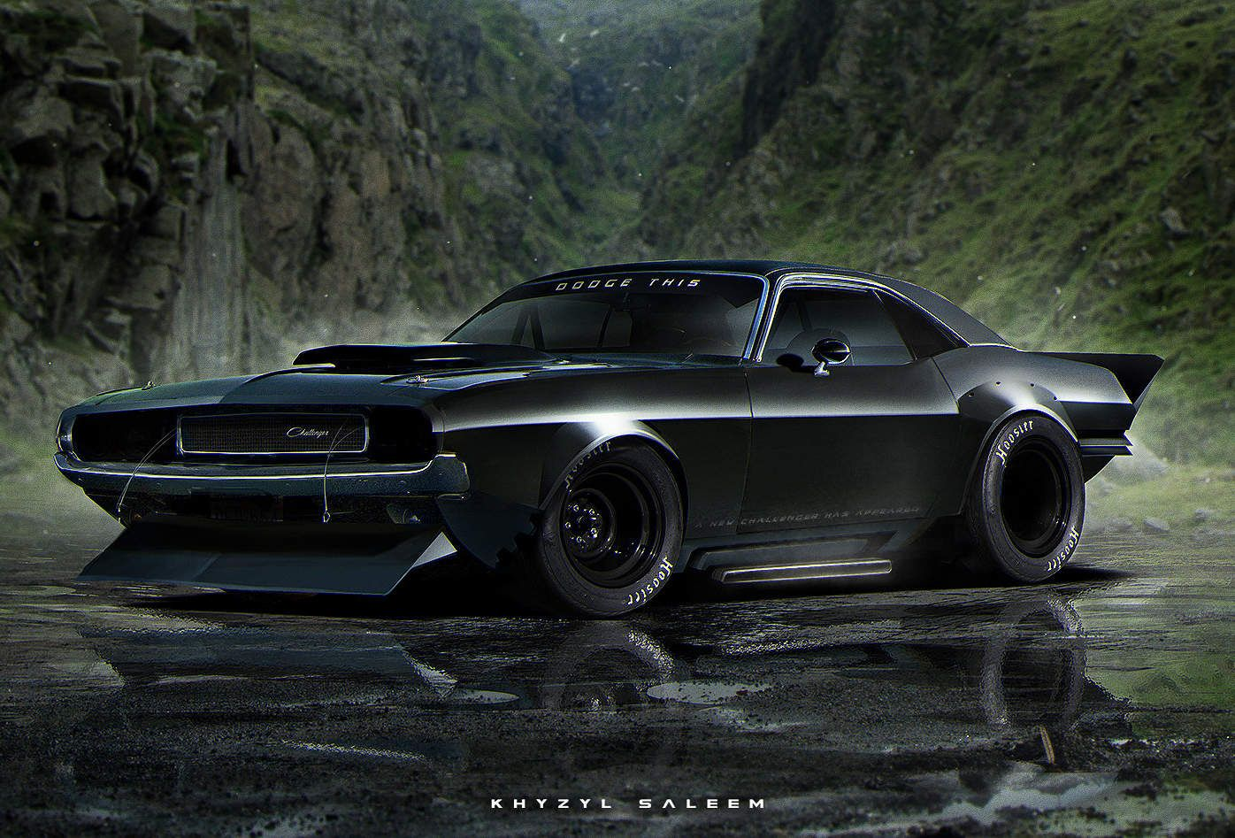 Brilliantly Modified Cars For The Zombie Apocalypse Challenger