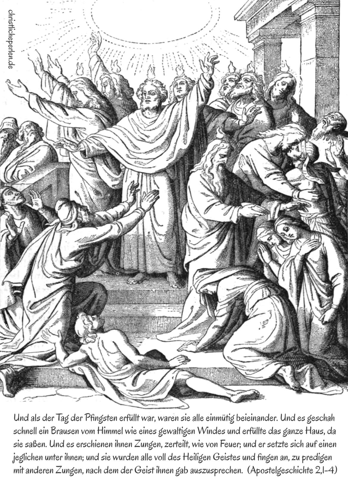 pfingsten  christliche perlen  ausmalen ausmalbilder