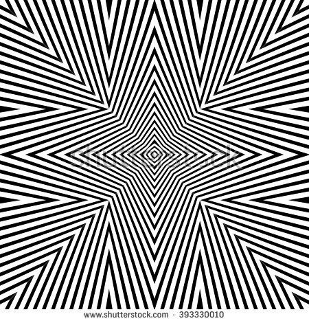 victor vasarely coloring pages | Optical Illusion Background Vector Illustration | op art ...