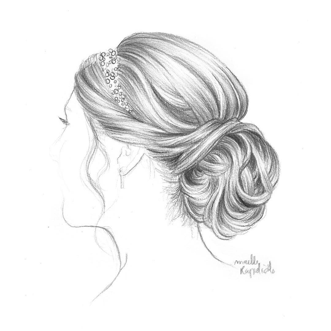 a gift i drew for a lovely friend; that was her bridal